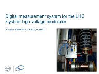 Digital measurement system for the LHC klystron high voltage modulator