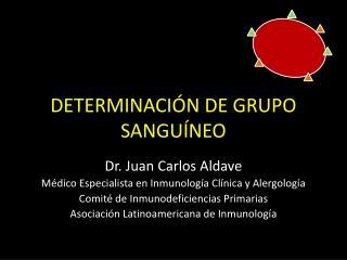 DETERMINACIÓN DE GRUPO SANGUÍNEO