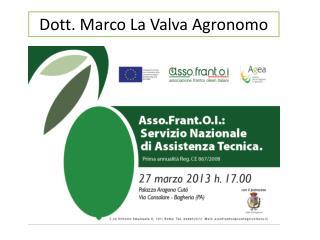 Dott. Marco La Valva Agronomo