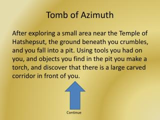 Tomb of Azimuth