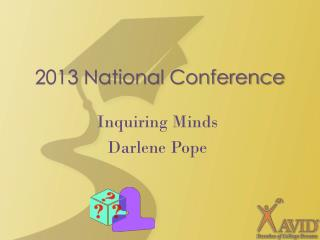 2013 National Conference