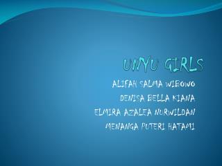 UNYU GIRLS