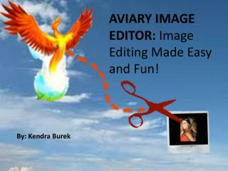 AVIARY IMAGE EDITOR:  Image Editing Made Easy  and Fun!