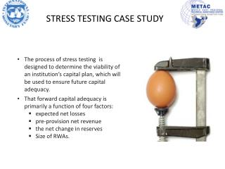 case study on stress testing February 2015 case study on stress testing for an asset manager-private bank case study available here more information on the software used in the study here.