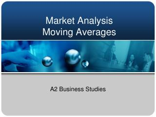 Market Analysis Moving Averages