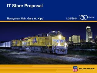 IT Store Proposal