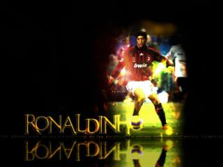 When Ronaldinho jumps into the water he doesn't get wet the water gets  ronaldinhoed !!