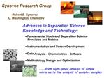 Discovery-stage fundamental studies   Real-time analytical technology   Process optimization and control