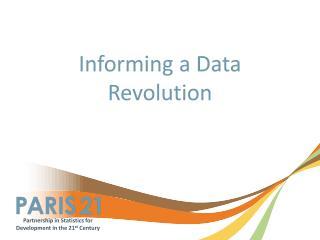 Informing a Data Revolution