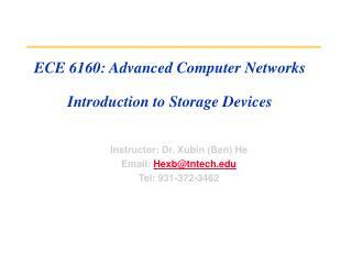ECE 6160: Advanced Computer Networks