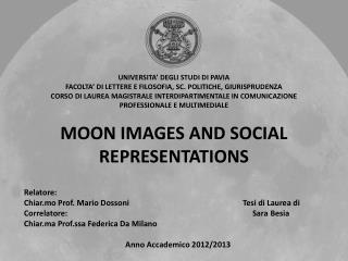 MOON IMAGES AND SOCIAL REPRESENTATIONS