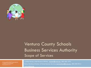 Ventura County Schools Business Services Authority Scope of Services