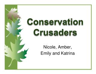 Conservation  Crusaders