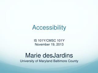 Universal Usability (UU)