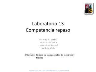 Laboratorio 13 Competencia repaso