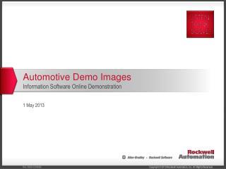 Automotive Demo Images