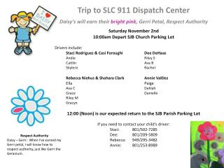 Trip to SLC 911 Dispatch Center