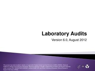 Laboratory Audits