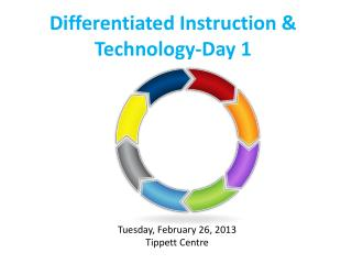 Differentiated Instruction & Technology-Day 1