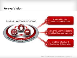 Avaya Vision