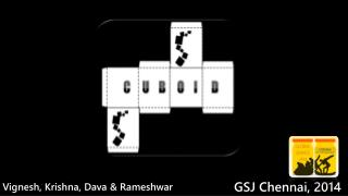 Vignesh, Krishna, Dava & Rameshwar