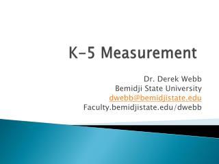 K-5 Measurement