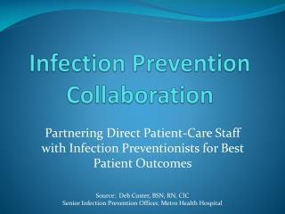 Infection Prevention Collaboration