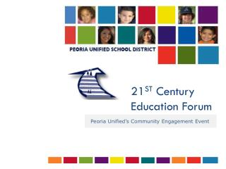 21 ST  Century Education Forum