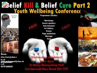 Belief Kill  &  Belief Cure Part 2