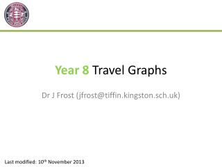 Year  8  Travel Graphs