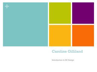 Caroline Gilliland