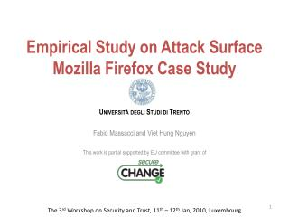Empirical Study on Attack Surface  Mozilla Firefox Case Study