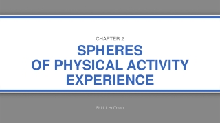 Physical Activity and the Elderly