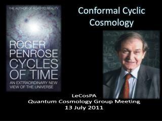 Conformal Cyclic Cosmology