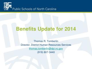 Benefits Update for 2014