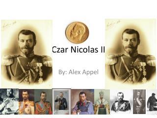 Czar Nicolas II
