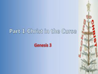 Part 1-Christ in the Curse