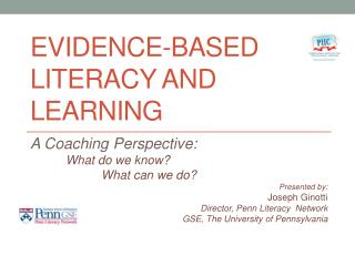 Evidence-Based Literacy and Learning
