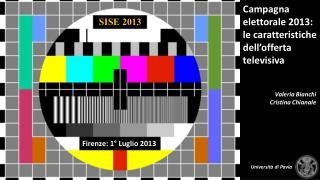 SISE 2013