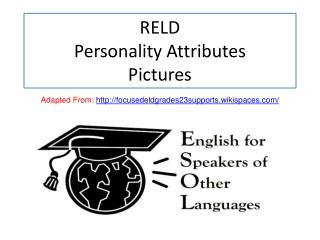 RELD  Personality Attributes Pictures