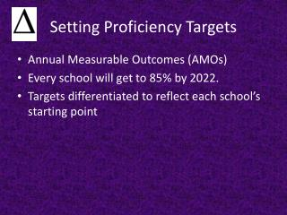 Setting Proficiency Targets