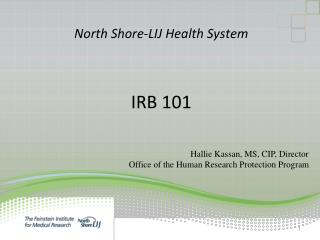 North Shore-LIJ Health System