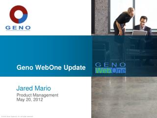 Geno WebOne  Update