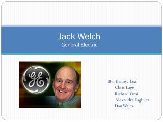 Jack Welch General Electric