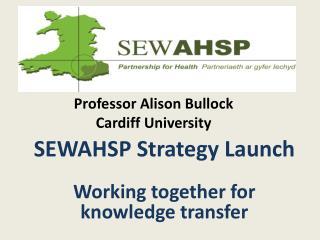 Professor Alison Bullock Cardiff University