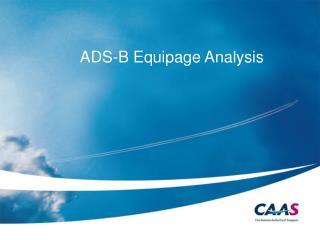ADS-B Equipage Analysis