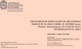 FERNANDO J. PARRA-VELANDIA SVEN ZEA  PhD