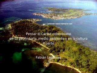 Pensar el Caribe colombiano II parte pptx