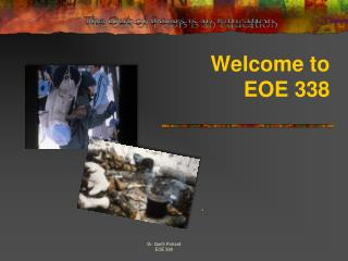 Welcome to  EOE 338