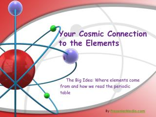 Your Cosmic Connection to the Elements